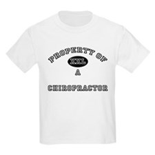 Property of a Chiropractor T-Shirt
