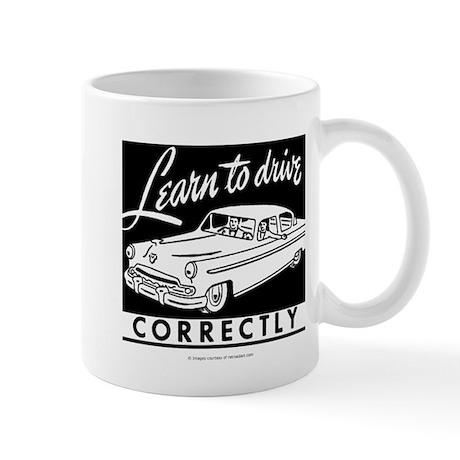 Learn To Drive Mug