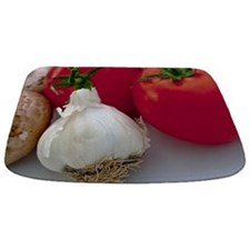 Tomato And Garlic Bathmat