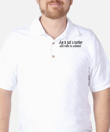 Age is Just a Number Golf Shirt