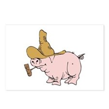 Hillbilly Country Pig Postcards (Package of 8)