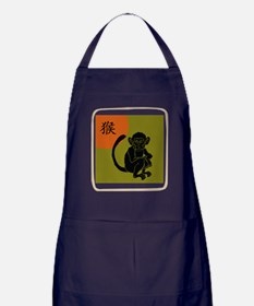 Year of The Monkey Apron (dark)