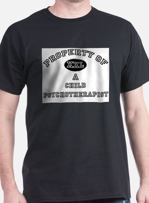 Property of a Child Psychotherapist T-Shirt