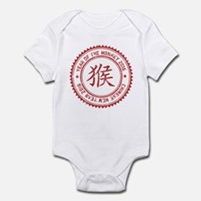 Chinese New Year of The Monkey 201 Infant Bodysuit