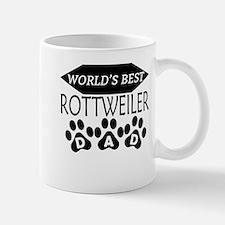 World's Best Rottweiler Dad Mugs