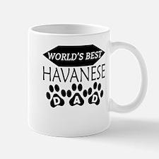 World's Best Havanese Dad Mugs
