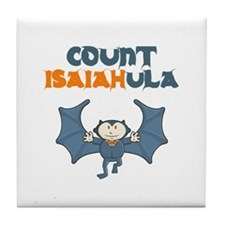 Count Isaiahula Tile Coaster