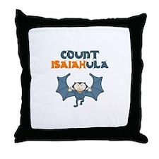 Count Isaiahula Throw Pillow