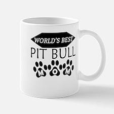 World's Best Pit Bull Mom Mugs
