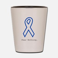 Blue Out: Fear Nothing Shot Glass