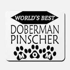 World's Best Doberman Pinscher Mom Mousepad