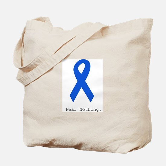 Blue: Fear Nothing Tote Bag