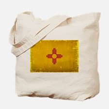 New Mexico State Flag VINTAGE Tote Bag