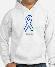 Blue Outline: Strong Jumper Hoody