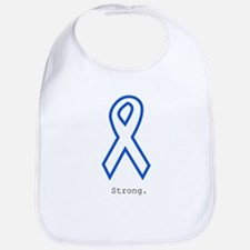 Blue Outline: Strong Bib