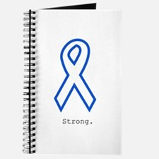 Blue Outline: Strong Journal