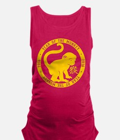 Cute Chinese zodiacs Maternity Tank Top
