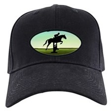 Hunter Jumper Grassy Field Baseball Hat