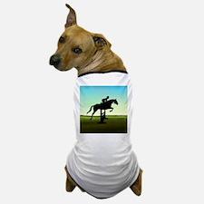Hunter Jumper Grassy Field Dog T-Shirt