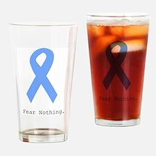Light Blue: Fear Nothin Drinking Glass