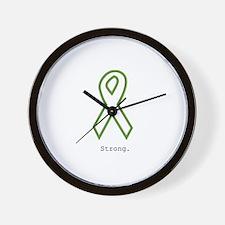 Green: Strong Wall Clock