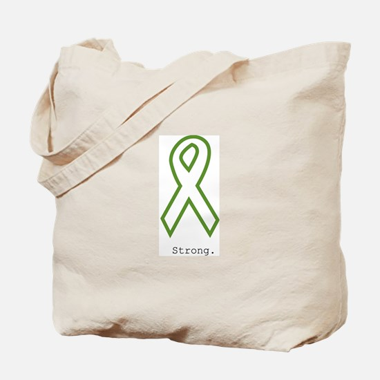 Green: Strong Tote Bag