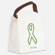 Green: Strong Canvas Lunch Bag