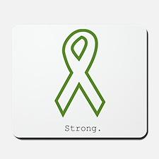 Green: Strong Mousepad