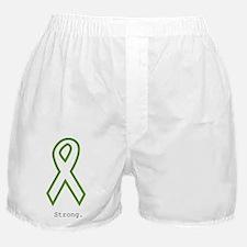 Green: Strong Boxer Shorts
