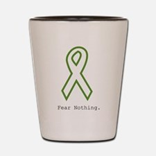 Green: Fear Nothing Shot Glass