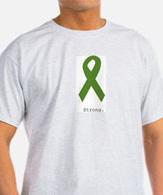 Green Ribbon: Strong T-Shirt