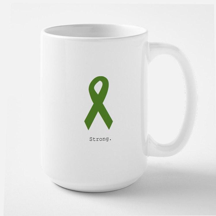 Green Ribbon: Strong Mugs