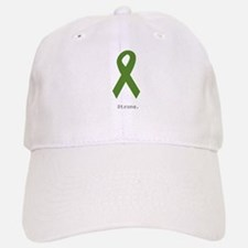 Green Ribbon: Strong Baseball Baseball Cap