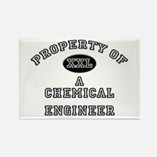 Property of a Chemical Engineer Rectangle Magnet