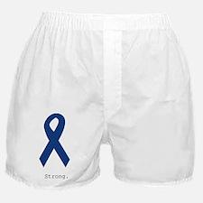Navy Blue: Strong Boxer Shorts