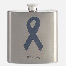 Navy Blue: Strong Flask