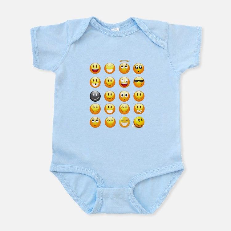smiley emojis Body Suit