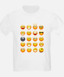 smiley emojis T-Shirt