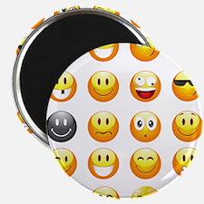 smiley emojis Magnets