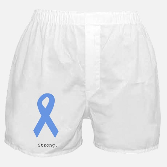 Light Blue: Strong Boxer Shorts