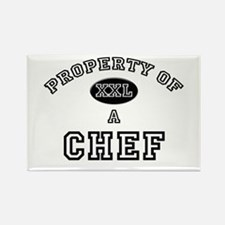 Property of a Chef Rectangle Magnet