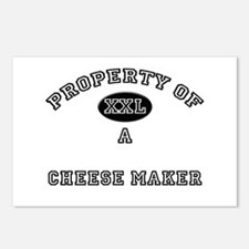 Property of a Cheese Maker Postcards (Package of 8