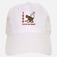1980 Year of The Monkey Baseball Baseball Cap