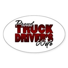 Proud Truckers Wife Decal
