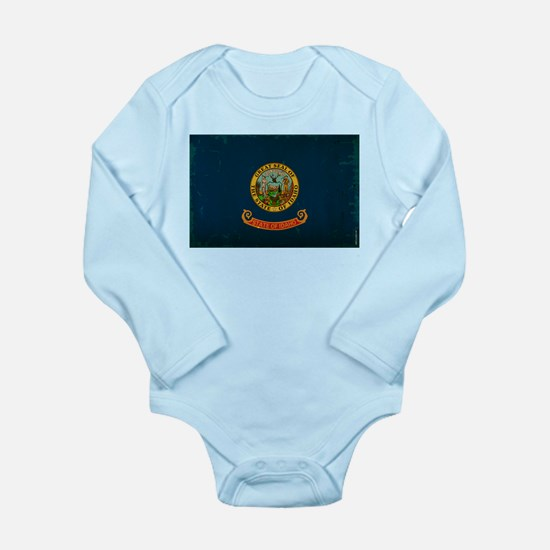 Idaho State Flag VINTAGE Body Suit