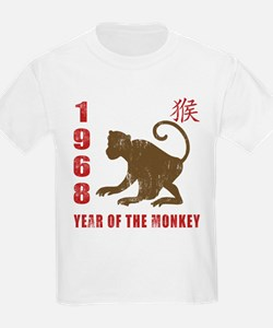 1968 Year of The Monkey T-Shirt