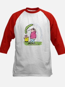 Funny Golfing Pig Tee