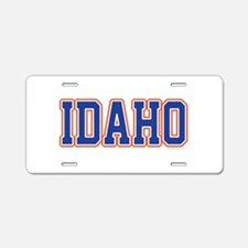 Idaho Jersey Blue Aluminum License Plate