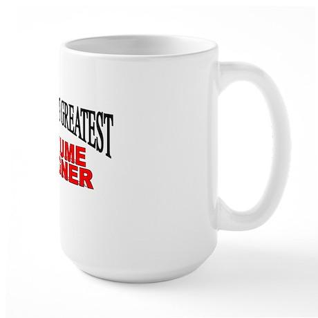 """""""The World's Greatest Costume Designer"""" Large Mug"""