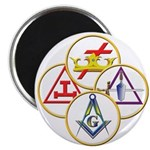 Masonic York Rite Circles 2.25